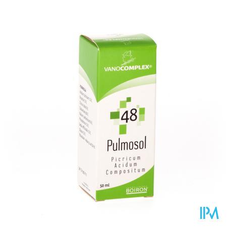 Vanocomplex 48 Pulmosol 50 ml