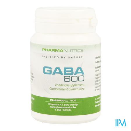 Gaba 600 V-caps 60 Pharmanutrics
