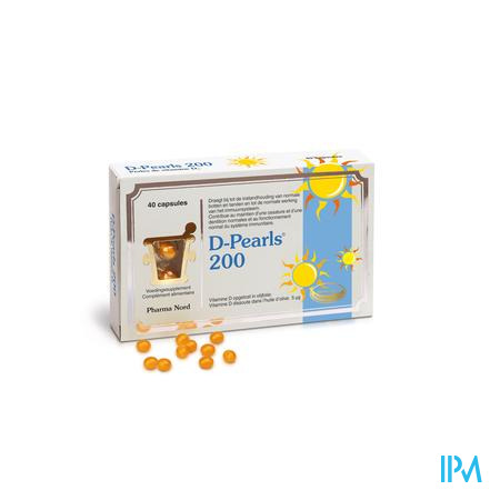 Pharma Nord D-Pearls 200 40 capsules