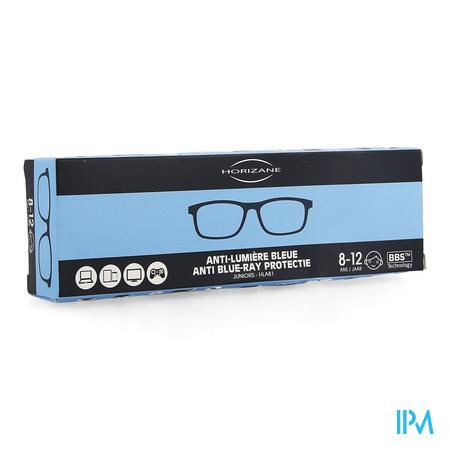 Optique Bril A/blauw Licht 8-12j Blauw Horizane