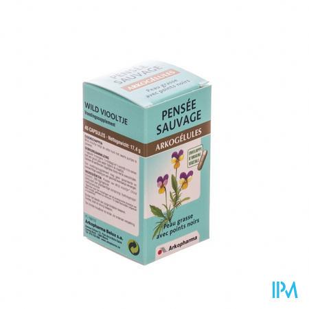 Arkogelules Pensee Sauvage Vegetal 45  -  Arkopharma