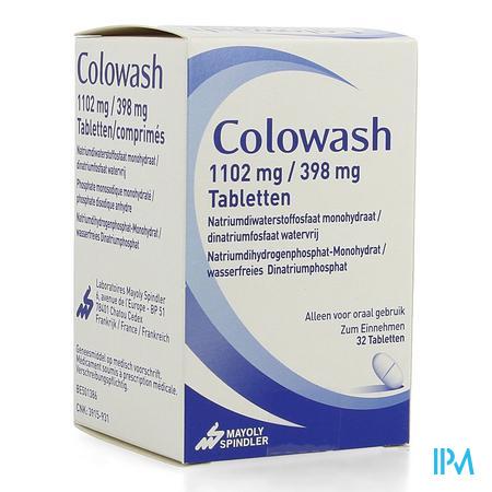 Colowash 1102mg/398mg Tablet 32