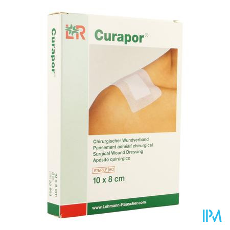 Curapor Verband Chirurg. Steriel 10cmx 8cm 5 32903