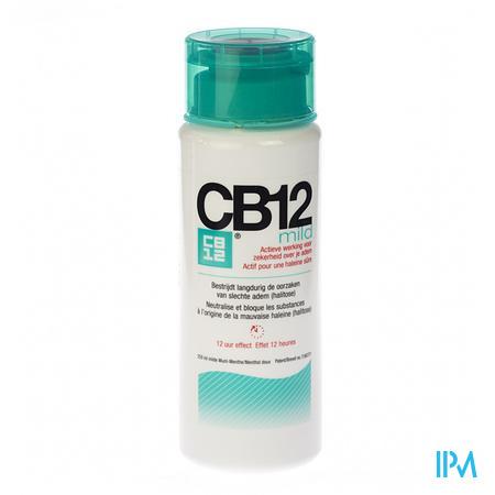 CB12 Halitosis Mild 12u Rince-bouche 250 ml