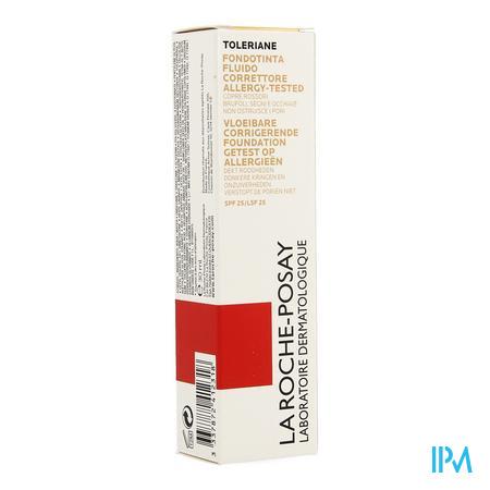La Roche Posay Toleriane Fdt Correct.fluide 13 Bge Sable 30ml
