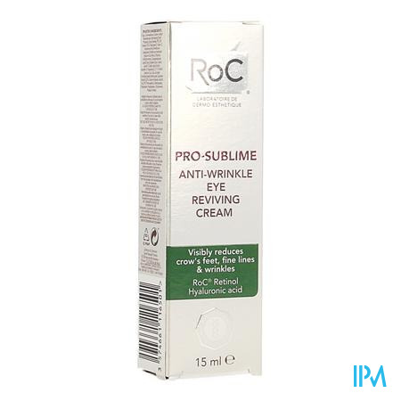 Roc Pro-sublime Cr A/rimpel Oogcontour Revit.15ml