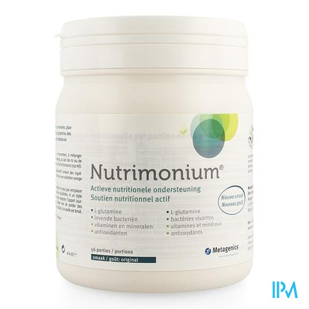 Nutrimonium Original Pdr Pot 56 22970 Metagenics