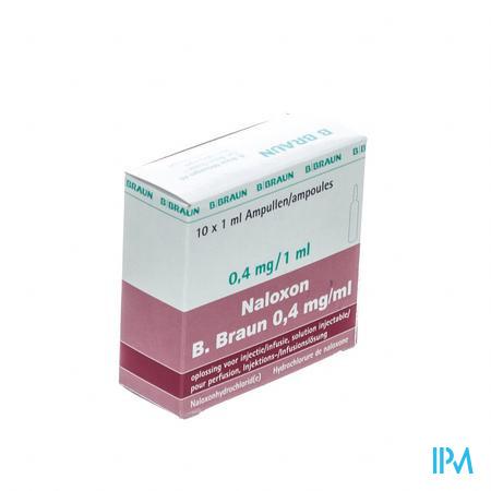Braun Naloxon Inj 0,4mg/ml 1ml 10 Amp