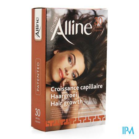 Afbeelding Alline Procap All in Nutrition voor Haargroei 30 Capsules.