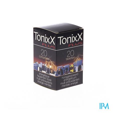 TonixX Plus Mentale Energie 20 tabletten