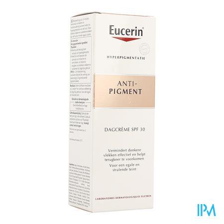 Afbeelding Eucerin Anti-Pigment Dagcrème met SPF 30 voor Vermindering van Donkere Vlekken en Hulp bij Voorkomen van Terugkeer ervan Flacon 50 ml.