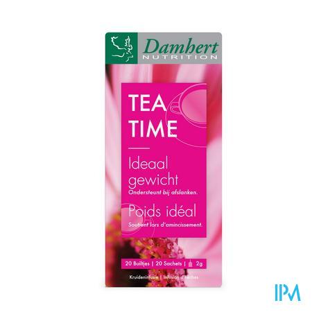 Damhert Tea Time Thee Ideaal Gewicht 20 zakjes