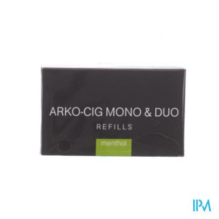 Arko-cig Mono & Duo Navulling Menthol 4