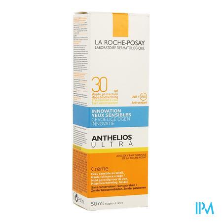 Afbeelding La Roche-Posay Anthelios Ultra Zonnecrème SPF 30 voor Gelaat 50 ml.