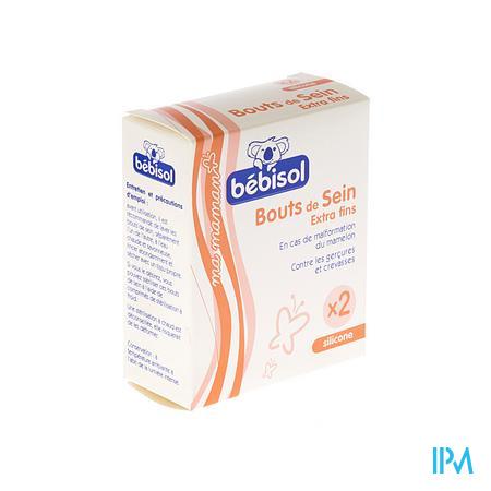 Bebisol Bouts De Seins Silicone 2 pièces