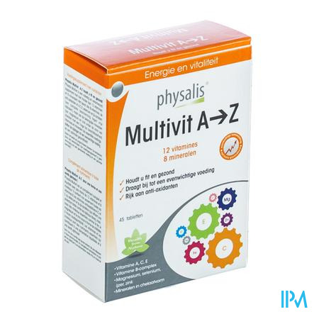 Multivit AZ 45 tabletten