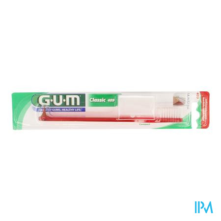 Gum Tandenb Classic Compact Volw 409