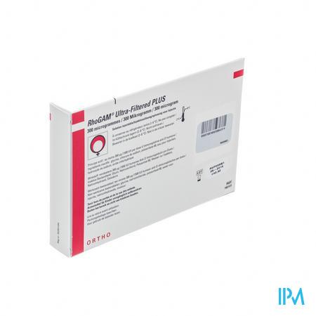 Rhogam Ortho Vial Inj 1 X 300 Mcg