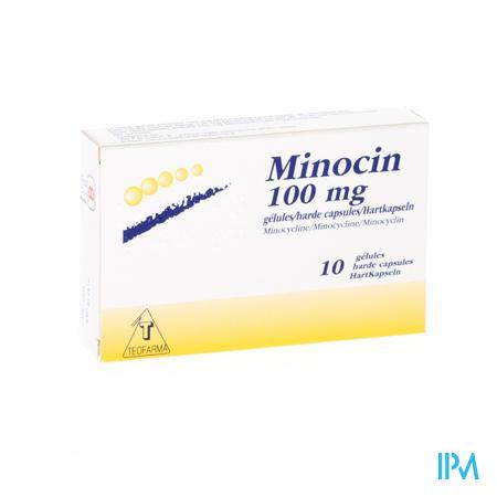 MINOCIN CAPS  10 X 100 MG
