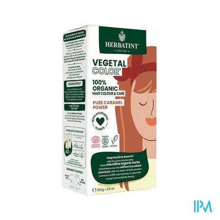 Herbatint Vegetal Color Eco Pure Caram. Pow.100ml