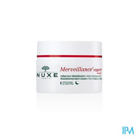 Afbeelding Nuxe Merveillance Expert Nuit Herstellende Nachtcrème voor Gevestigde Rimpels voor Alle Huidtypes Pot 50 ml.