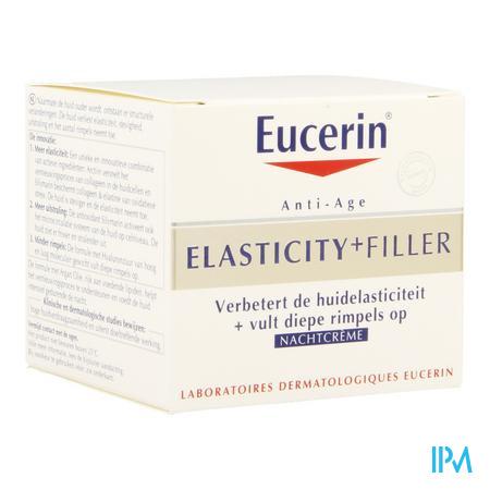 Afbeelding Eucerin Elasticity+Filler Nachtcrème 50 ml.