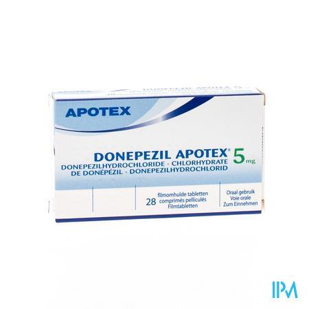 Donepezil Apotex 5,0mg Comp Pell 28 X 5,0mg