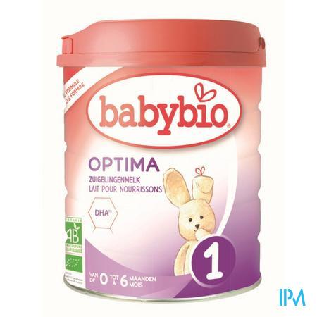 Babybio Optima 1 Zuigelingenmelk 800g