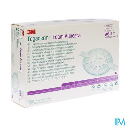 3M Tegaderm Foam Adhesive 10cm x 11cm 10 stuks