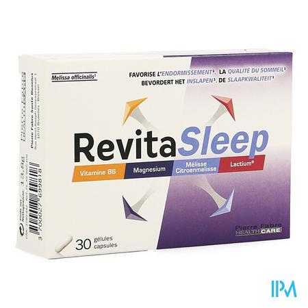 Afbeelding Revita Sleep voor Bevordering van het Inslapen en de Slaapkwaliteit 30 Gelules .