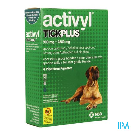 Activyl Tick Plus Opl. Spot-on 4x6ml