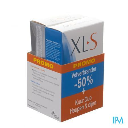XLS Duo Heupen & Dijen (30tabl)  + Vetverbrander (60tabl) aan -50%