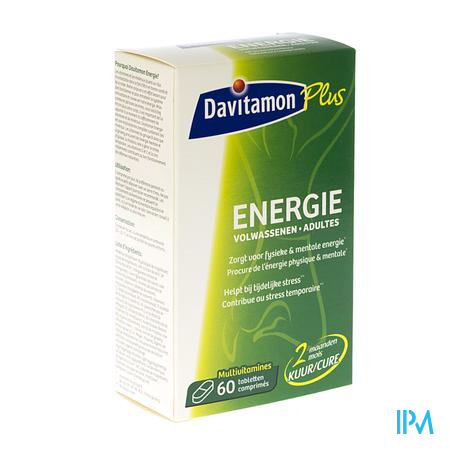 Davitamon Energy Adult 60 tabletten