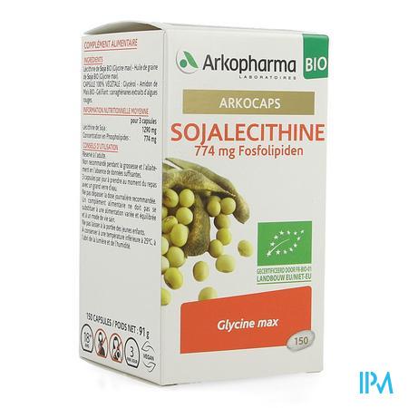 Arkocaps Sojalecithine Bio Caps 150