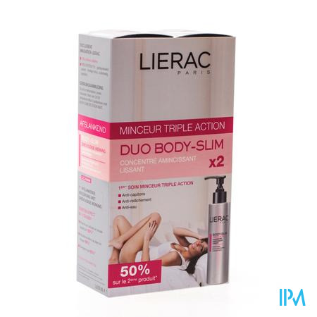 Lierac Body Slim Corps DUO Promo 2 x 200ml 2 x 200 ml