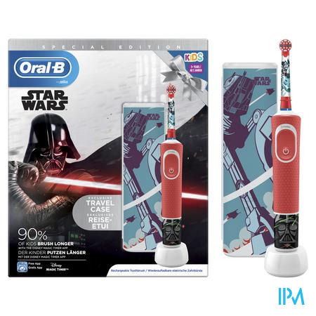Oral B D100 Star Wars + Travelcase Gratis