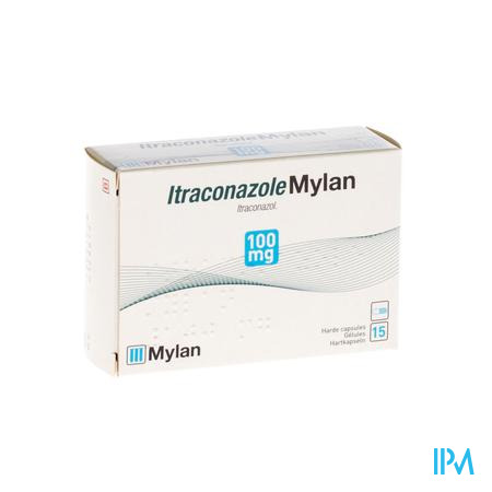Itraconazole Mylan 100mg Caps 15 X 100mg