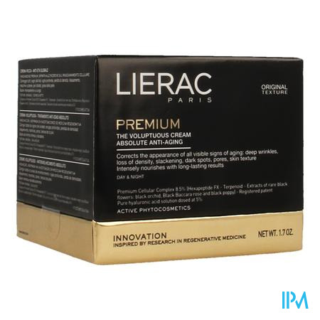 Lierac Premium Creme Voluptueuse Pot 50ml