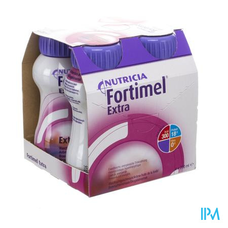 Fortimel Extra Fruits Foret Nf4x200ml Rempl2505006