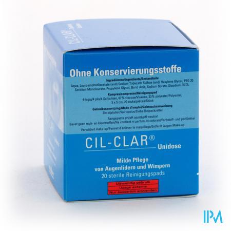 Cil-clar Hygiene Oogleden Kp Unidose 20