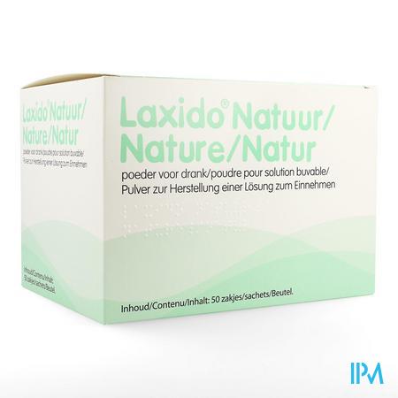 Laxido Natuur Zakjes 50 X 13,7g