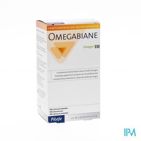Omegabiane Teunisbloem 700mg 100 capsules