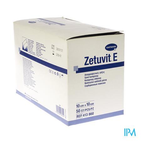 Zetuvit 10cm x 10cm Non Stérile 50 pièces