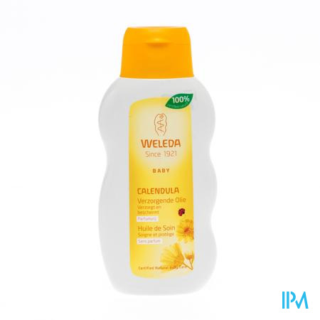 Weleda Calendula Bébé Huile De Soin Sans Parfum 200 ml