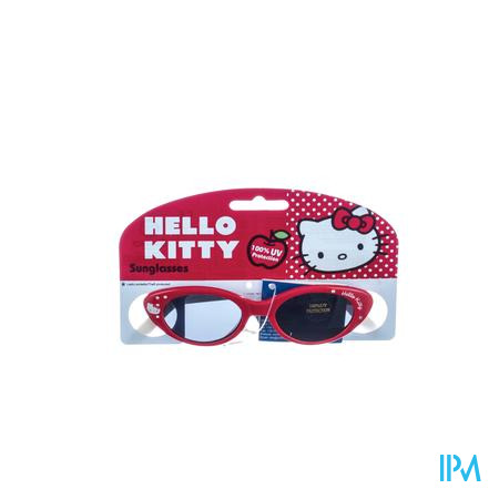 Hello Kitty Lunettes Solaire Ovale Rouge 1 pièce