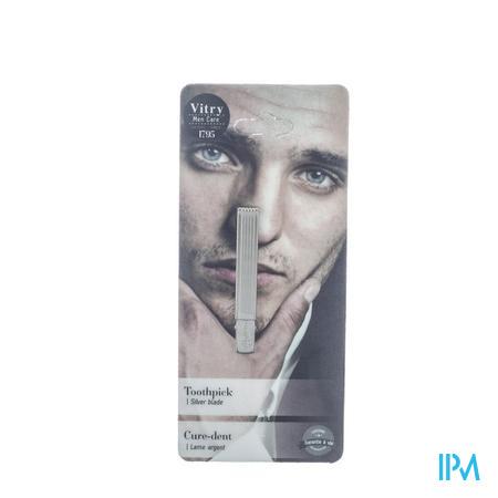 Vitry Classic Cure Dents Lame Argenté 1040 1 pièce