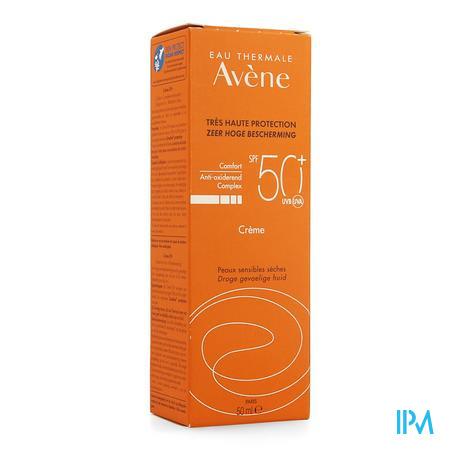 Avene Zonnecreme Ip50+ Nf 50ml