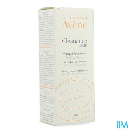Avene Cleanance Mask Peelingmasker Vh 50ml