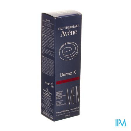 Afbeelding Avène Men Dermo K Verzorging ter Vergemakkelijking van Scheren en ter Preventie van Ingegroeide Haartjes 40 ml.