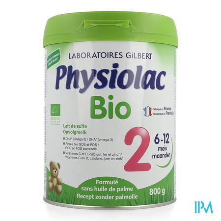 Physiolac Bio 2 Poedermelk Nf 800g
